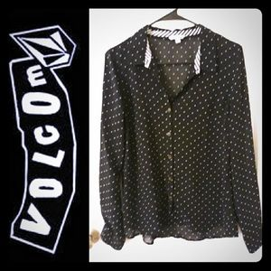 Volcom Sheer Long Sleeve Top